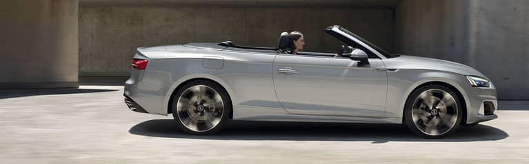 The Audi A5 Cabriolet