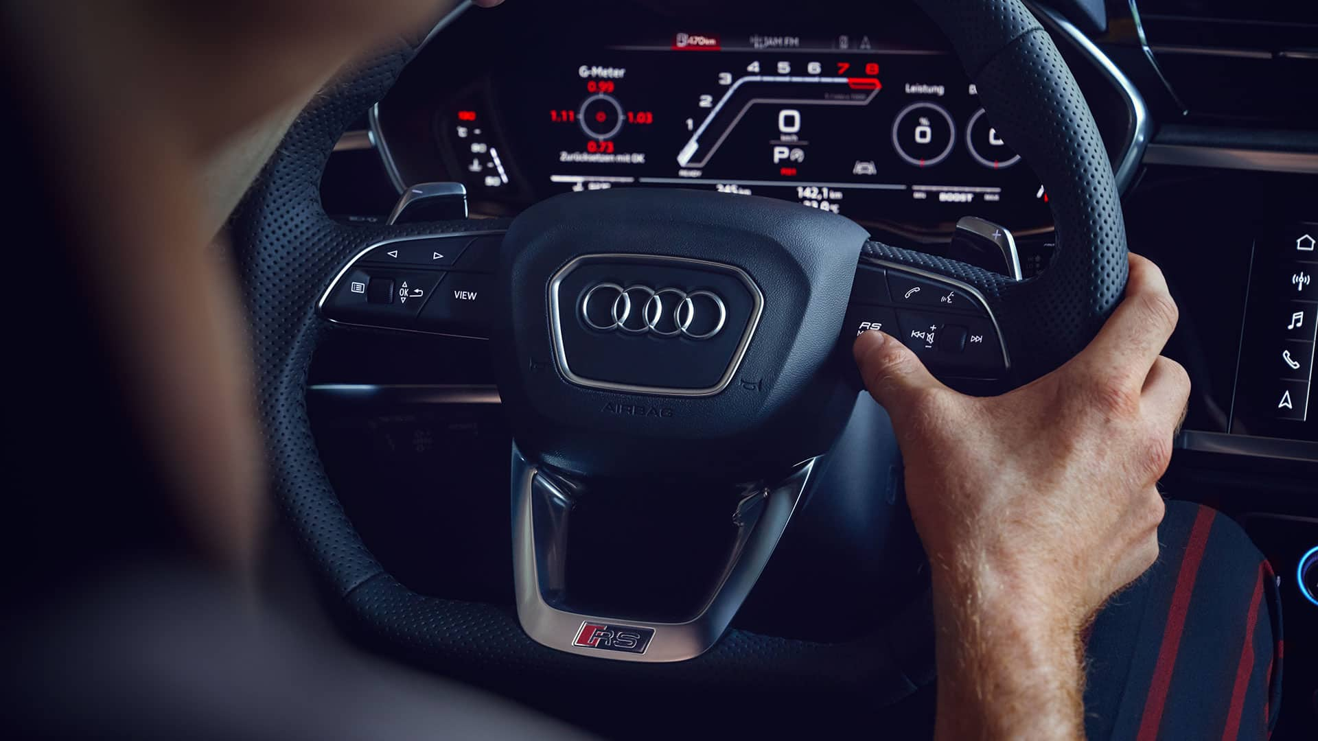 Audi virtual cockpit Audi RS Q3 Sportback