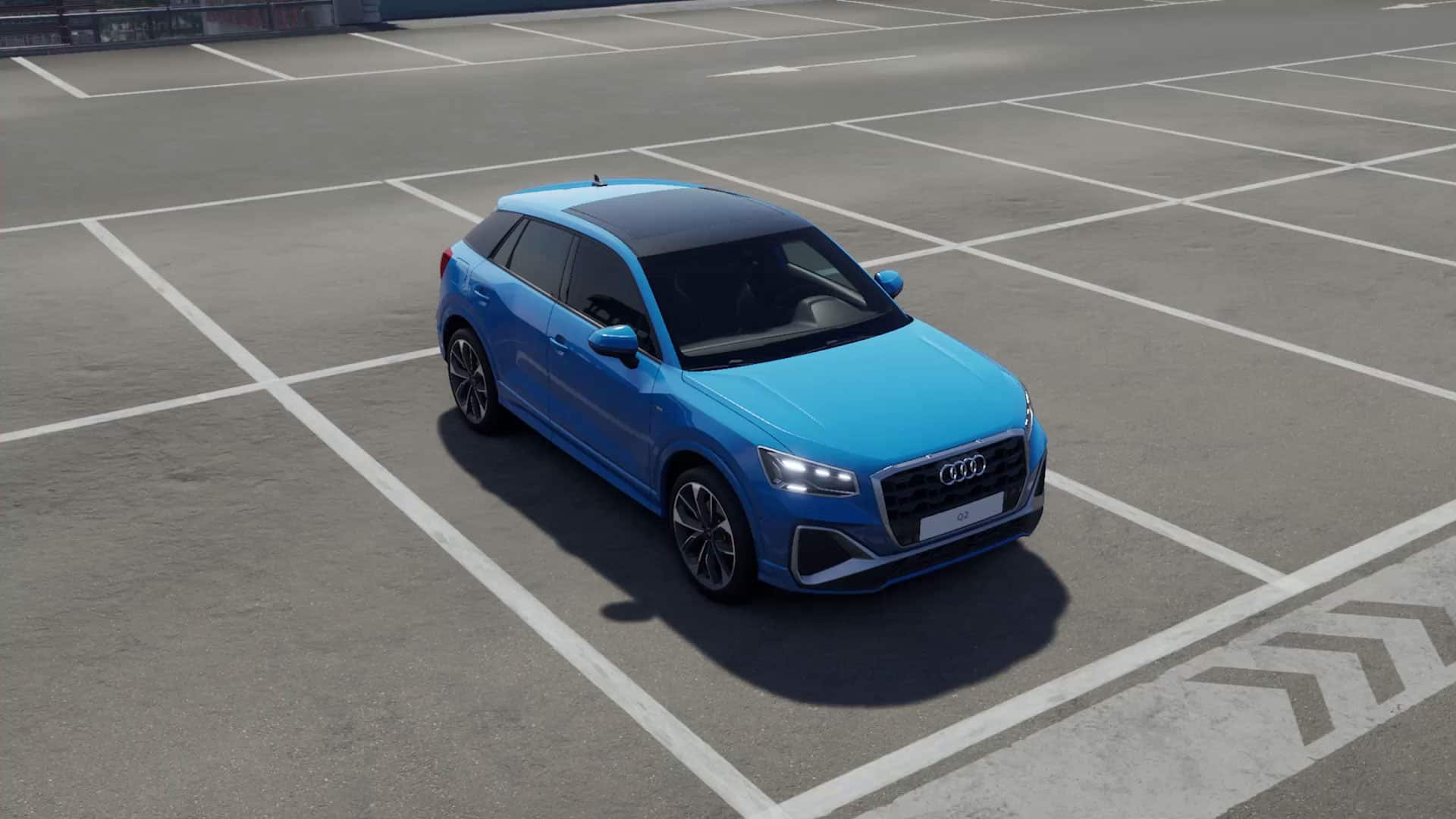 360 degree view of the Audi Q2